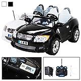 Kinder Elektroauto 2-Sitzer B15 mit 2 x 45 Watt Motor EXTRA GROß Elektro Kinderauto Kinderfahrzeug (schwarz)