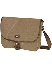 STORM Mens Vintage Retro Duo Weave Canvas Shoulder Messenger Bag Student  Satchel NEW UK fef5c4a3c265f