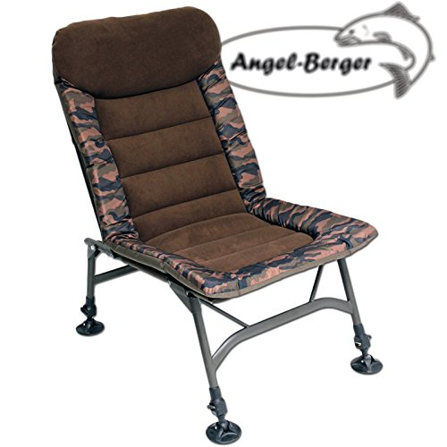 Angel-Berger Camo Session Carp Chair Karpfenstuhl