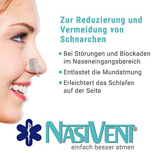 Nasivent Tube Plus Anti Schnarch Mittel (Neues Model) - Größe S/8mm - 2er Pack (Mit Reisebox) - 4