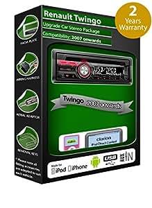 Renault Twingo de lecteur CD et stéréo de voiture radio Clarion jeu USB pour iPod/iPhone/Android