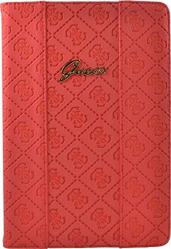 Guess Scarlett Flip Case für Universal Tablet, 7-8 Zoll, rot