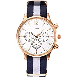 Kitcone Jwellery Bracelet Style Multi-Colour Men's Watch -Type 2Po