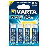 Varta 4906121414 - Batterie LR6 Mignon AA 1.5V High Energy 4er-Packung