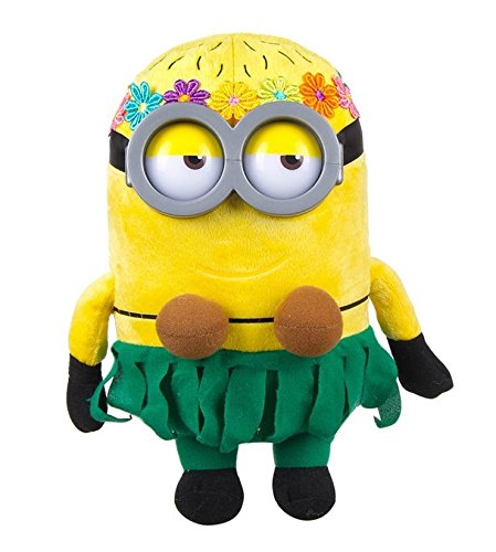 Minion Jerry Hawaiian Plush - Despicable Me - 28cm 11""
