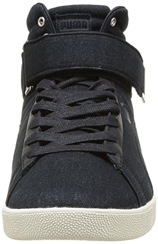 Puma Modern Court Hi 358607, Baskets mode homme Noir (Black)