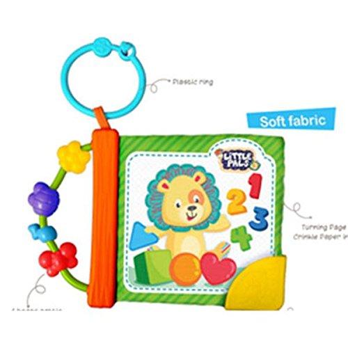 WinFun - Libro infantil suaves texturas para transportar (Tachan 7300176)