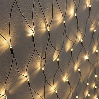 160er-LED-Lichternetz-1x2m-Warmwei-Indoor-und-Outdoor-Lichterkette-Christbaumlichterkette-Aussenbeleuchtung-Innenbeleuchtung-Partydeko-Partybeleuchtung-Lichterdeko-Dekoration