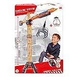 Dickie Toys 203462412 - Mega Crane, kabelgesteuerter Kran, 120 cm hoch