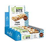 HEJ Natural Bite Noix de Coco Biologique - Barre aux noix Bio - Sans sucre ajouté - Barre énergétique - Produits 100% naturels - Barre végétalienne aux noix - Collation saine - Pack de 1 (8 x 40g)