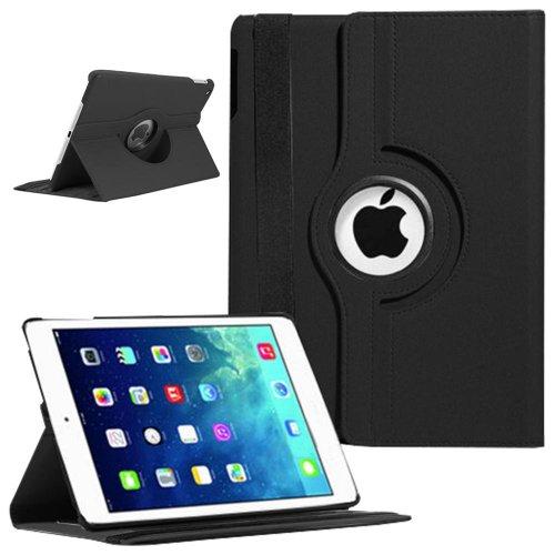 Easyplace   Funda de TPU con soporte para iPad Air   iPad 2/3   iPad Mini   Samsung Galaxy Tab 2 10.1   Tab 2 7.0   Tab 3 10.1   Tab 3 8.0   Tab 3 7.0. Rotación de 360º, lápiz capacitivo y protector de pantalla negro negro iPad Air