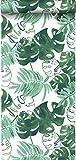 papel pintado hojas de la selva tropical pintadas verde esmeralda intenso - 138886 - de ESTAhome.nl