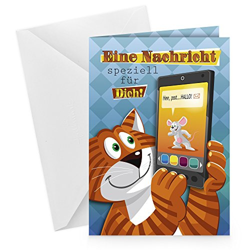 Hallmark 62906 Grußkarte Sounds Good Allgemein
