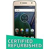 (Certified REFURBISHED) Moto G5 Plus XT1686 (Fine Gold, 32GB)