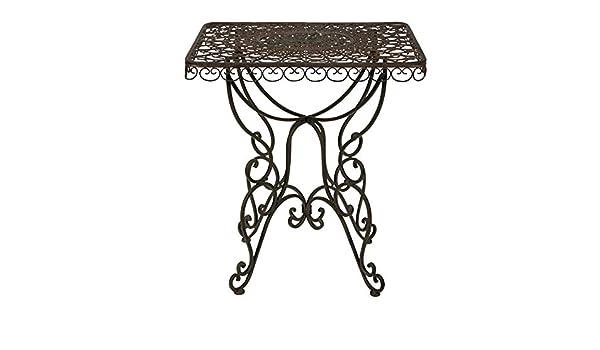 Biscottini Table CARRé Pliant en Fer 70x70x75 CM Tables de ...