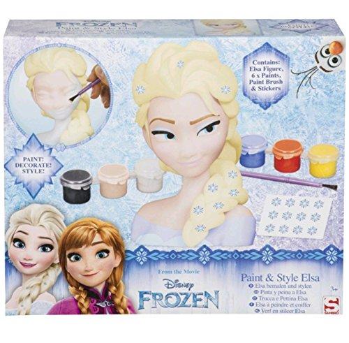 SAMBRO Pinta la Cabeza de la Princesa Elsa - Frozen