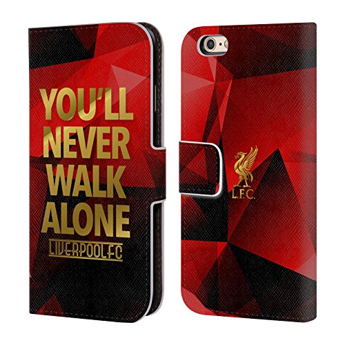 7d3e87885 Official Liverpool Football Club Red Geo Ynwa Plain Liver Bird Ynwa PU Leather  Book Wallet Case