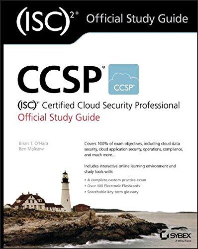 Preisvergleich Produktbild CCSP (ISC)2 Certified Cloud Security Professional Official Study Guide