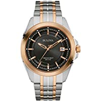 Bulova Precisionist 98B268 Men's Stainless Steel Bracelet Watch