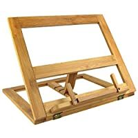 Greenco Bamboo Foldable Recipe Book Stand