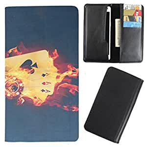 DooDa - For HTC Desire X Dual Sim PU Leather Designer Fashionable Fancy Case Cover Pouch With Card & Cash Slots & Smooth Inner Velvet