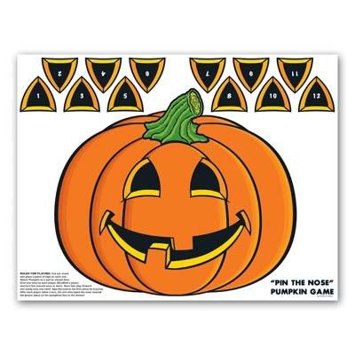 Kürbis ~ lustiges Halloween-Party Spiel für 12Spieler-Jack O Laterne ()