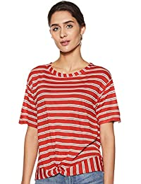 f99569c850e24c DJ C By fbb Women s Striped Regular fit T-Shirt