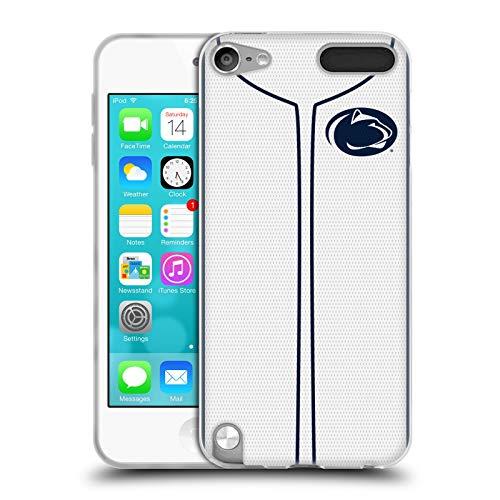 Head Case Designs Offizielle Pennsylvania State University PSU Baseball Jersey Soft Gel Huelle kompatibel mit Apple iPod Touch 5G 5th Gen State University Ipod Touch