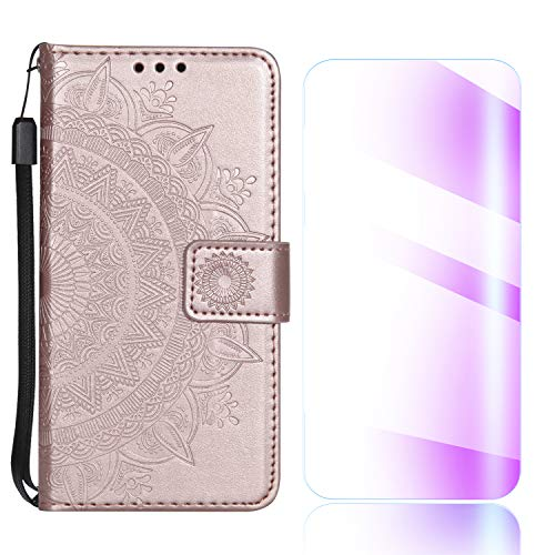 The Grafu® Funda para Samsung Galaxy J7 2018, Billetera Cuero Funda c