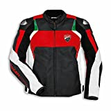 Ducati 9810373 Lederjacke Motorradjacke Racing Sport Leather Jacket CORSE C3 (48)