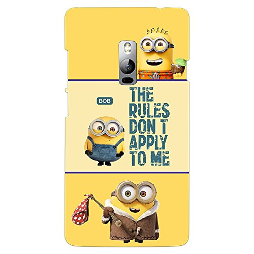 PrintVoo® Despicable Minions Quote Printed Mobile Case for OnePlus 2 / OnePlus Two / One Plus 2