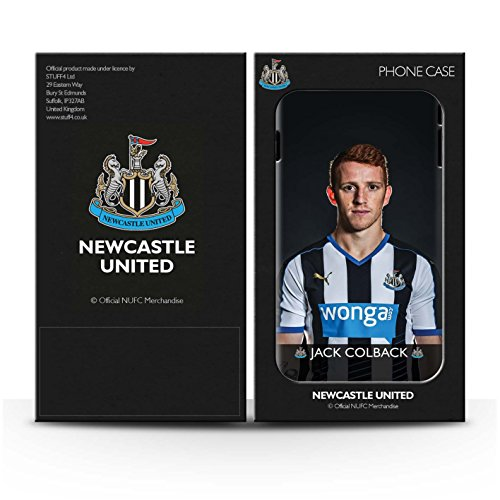 Officiel Newcastle United FC Coque / Matte Robuste Antichoc Etui pour Apple iPhone 6+/Plus 5.5 / Pack 25pcs Design / NUFC Joueur Football 15/16 Collection Colback
