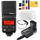 Godox V350N TTL 2.4G Camera Flash With Built-in Rechargeable 7.2V/2000mAh Li-ion Battery For Nikon D5 D4 D70S D90 D100 D200 D300S D300 D500 D610 D700 D750 D800 D810 D3100 D3200 D3300 D5000 D5100 Etc