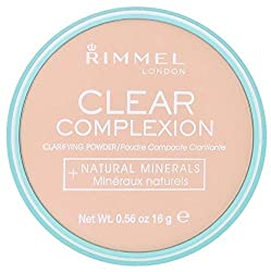 Rimmel London Rimmel Clear Complexion Powder - Transparent 21