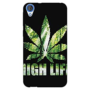 Jugaaduu Weed Marijuana Back Cover Case For HTC Desire 820