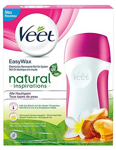 Veet EasyWax, elektr. Warmwachs Roll-On-System für alle Hauttypen