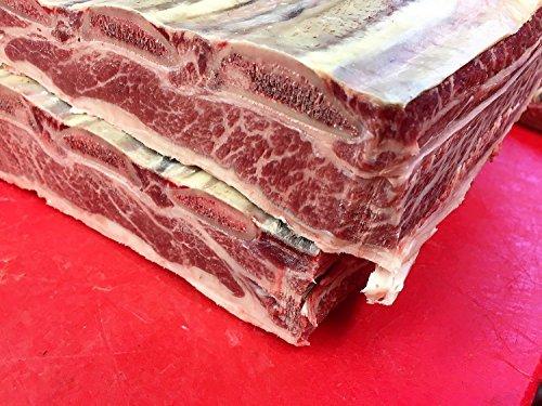 Short Rib vom Wagyu Rind, Dry Aged, Beef Rib Gesamtgewicht 1406 Gramm