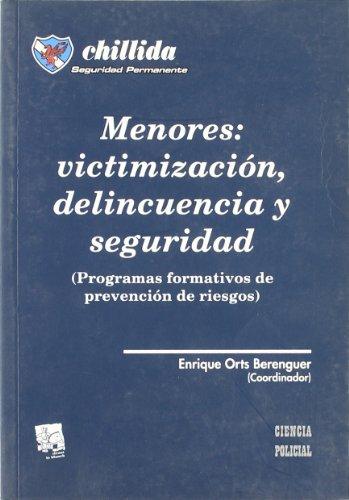 Menores : victimización , delincuencia y seguridad (Programas formativos de prevención de riesgos)