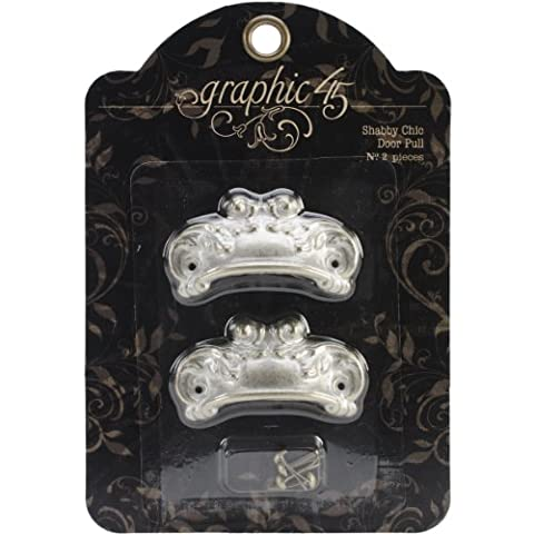 Graphic 45Agrafes pour porte style shabby chic