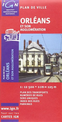 72369 Plan d'Orleans 1/13.000 par Ign