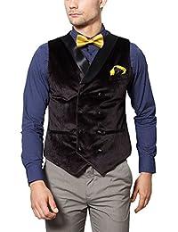 Peter England Men's Regular Fit Blazer_ PWC51505714_38_ Brown