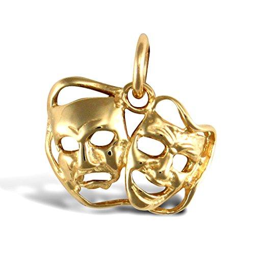 medy Maske Anhänger (Forever Gold Maske)