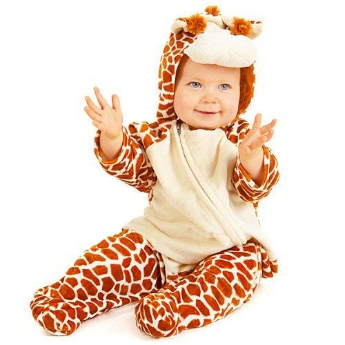 Baby Kostüm Giraffe - Baby Onesie Little Giraffe Dressing up Costume for ages 12-18 months