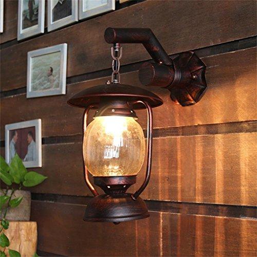 Fashion kreative Individualität chinesischen Retro Objekte der deation Wandleuchte, Altertum Pferd Lampe/alte Petroleumlampe Leuchten/Innenhof ridor