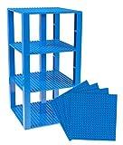 #7: Premium Blue Stackable Base Plates - 4 Pack 6