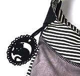 Santoro Eclectic - Gorjuss Wool Slouchy Bag - Ruby by Gor-juss Bild 9