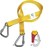 PLASTIMO Longe Simple+1 Mousqueton Mixte Adulte, Jaune, Normal