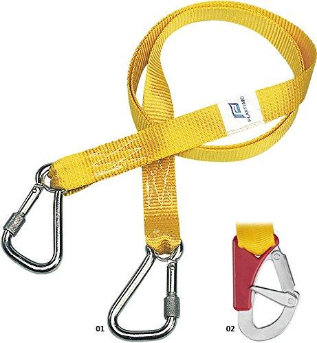 Plastimo Automatische Rettungsweste 2Schleppleine einfach 2mousq DBLE Secu Kinder Unisex Erwachsene, Gelb