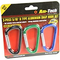 Am-Tech 3 Stück Snap Hook Set, S4320