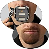 GoateeSaver- Goatee Shaving Template